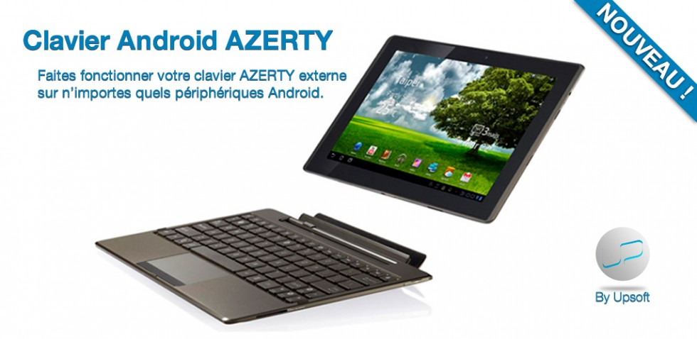clavier azert android
